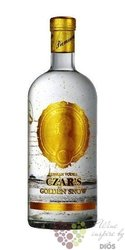 "Carskaja "" Czar´s golden snow "" premium Russian vodka 40% vol.  0.70 l"