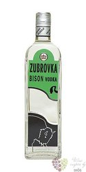 Zubrovka Bizon vodka Fruko Schulz 40% vol.   0.50 l