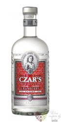 "Carskaja "" Czar´s cranberry "" premium Russian vodka 40% vol.  0.70 l"
