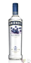 "Smirnoff "" Blueberry no.21 "" premium flavoured Russian vodka 37.5% vol.  1.00 l"