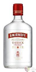 """Smirnoff """" Red no.21 """" triple distilled Russian vodka 40% vol.    0.35 l"""