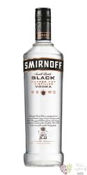 "Smirnoff "" Black Small batch no. 55 "" ultra premium Russian vodka 40% vol.  0.50 l"