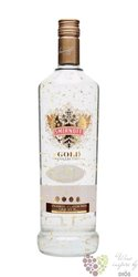 "Smirnoff "" Gold cinnamon "" triple distilled flavored Russian vodka 37.5% vol. 1.00 l"