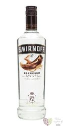 "Smirnoff "" Espresso coffée "" premium flavoured Russian vodka 37.5% vol.  1.00 l"