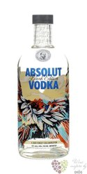 "Absolut blank edition ""  Dave Kinsey "" country of Sweden superb vodka 40% vol. 0.70 l"