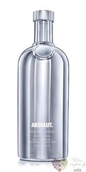 """Absolut limited """" Electric silver """" country of Sweden superb vodka 40% vol.  1.00 l"""