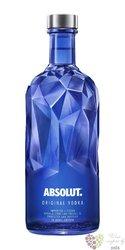 """Absolut ltd. """" Facet """" country of Sweden superb vodka 40% vol.  0.70 l"""