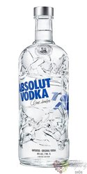 "Absolut ltd. "" Recycled "" country of Sweden superb vodka 40% vol.  0.70 l"