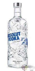 "Absolut ltd. "" Recycled "" country of Sweden superb vodka 40% vol.  1.00 l"