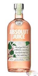 """Absolut Juice """" Rhubarb """" country of Sweden Superb vodka 35% vol.  0.50 l"""