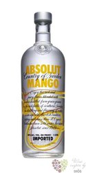 "Absolut "" Mango "" flavored country of Sweden Superb vodka 40% vol.    1.00 l"