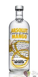"Absolut "" Mango "" flavored country of Sweden Superb vodka 40% vol.    0.70 l"