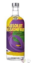 "Absolut flavor "" PassionFruits "" country of Sweden superb vodka 40% vol.  1.00 l"