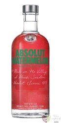 "Absolut flavor "" Watermelon "" country of Sweden Superb vodka 40% vol.  0.70 l"