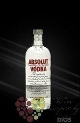 """Absolut """" Red """" stronger Country of Sweden Superb vodka 50% vol.    0.50 l"""