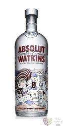 """Absolut flavor """" Watkins """" country of Sweden Superb vodka 40% vol.    1.00 l"""