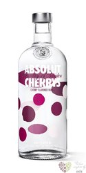 "Absolut flavor "" Cherrys "" country of Sweden Superb vodka 40% vol.  1.00 l"
