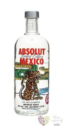 "Absolut city "" Mexico "" country of Sweden superb vodka 40% vol.  0.70 l"