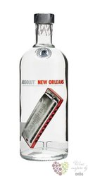 "Absolut city "" New Orleans "" country of Sweden superb vodka 40% vol.   0.70 l"