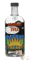 "Absolut flavor "" SVEA "" apple & ginger country of Sweden superb vodka 40% vol.0.70l"