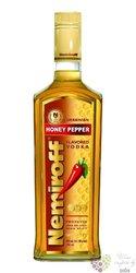 "Nemiroff "" Honney & Pepper "" flavored  Russian vodka 40% vol.   0.05 l"