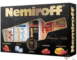 "Nemiroff "" Collection "" set of premium Russian vodka     5 x 0.10 l"