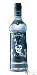 Black Death plain Dutch vodk37.5% vol.   0.70 l