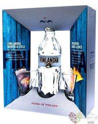 "Finlandia "" Coconut "" 2glass pack original flavored vodka of Finland 40% vol.  0.70 l"