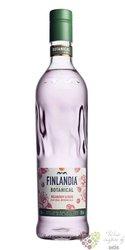 "Finlandia Botanical "" Wildberry & Rose "" flavored Finland vodka 30% vol.  0.70 l"