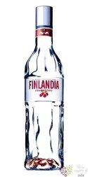 """Finlandia """" Cranberry fusion """" original flavored vodka of Finland 40% vol.   1.00 l"""