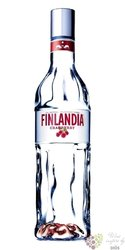 "Finlandia "" Cranberry fusion "" original flavored vodka of Finland 40% vol.   0.05 l"