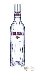 "Finlandia "" Blackcurrant fusion "" original flavored vodka of Finland 40% vol. 1.00 l"