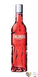 "Finlandia "" Redberry "" original flavored vodka of Finland 40% vol.   1.00 l"