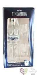 "Finlandia "" 50 years anniversary "" original vodka of Finland 40% vol.  0.70 l"