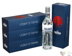 Finlandia original gift box original vodka of Finland 40% vol.  0.70 l