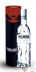 Finlandia gift tube original vodka of Finland 40% vol.   0.70 l