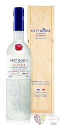 "Grey Goose "" Alain Ducasse "" ultra premium French vodka 40% vol.  0.70 l"
