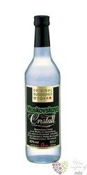 """Moskovskaya """" Cristal """" Russian clear vodka 40% vol.    0.50 l"""