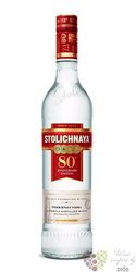 "Stolichnaya "" 80th anniversary edition "" ultra premium Russian vodka 40% vol. 1.00 l"