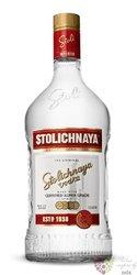 "Stolichnaya "" Original red "" premium Russian plain vodka 40% vol.  1.75 l"