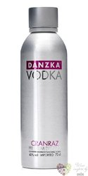 "Danzka "" CranRaz "" premium flavored Danish vodka 40% vol.  1.00 l"