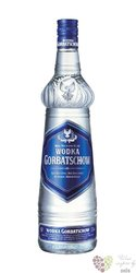 "Gorbatschow "" Blue "" premium German vodka 37.5 % vol.  0.70 l"