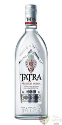 Tatra premium Polish vodka by Polmos 40% vol.  0.70 l