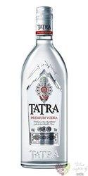 Tatra premium Polish vodka by Polmos 40% vol.  0.70 l