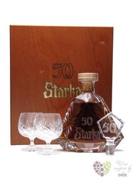 Starka aged 50 years glass pack exclusive Polish vodka 50% vol.    0.70 l