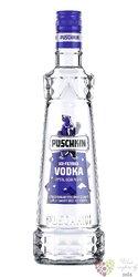 "Puschkin "" Original "" German Ice filtered vodka 37.5% vol.  1.00 l"
