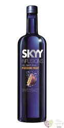 "Skyy infusions "" Passion fruits "" premium flavored American vodka 37.5% vol.  1.00 l"