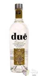 Dué original Italian Chardonnay flavoured vodka 40% vol.  0.70 l