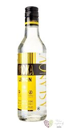 "Aslanov "" Lemon "" belgian flavoured premium vodka 40% vol. 1.00 l"