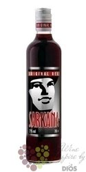 Sarkana Original Red The Cranberry flavored Litvian vodka 21% Vol.    0.70 l